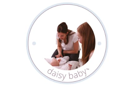 daisy foundation instructor with mum and baby