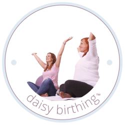 birthing badge for the daisy foundation
