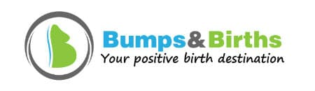 header logo for bumps and births Sheffield