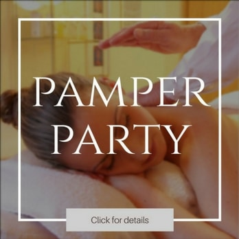Pamper parties where you can bring the kids